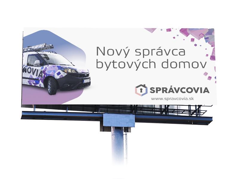 Správcovia - billboard
