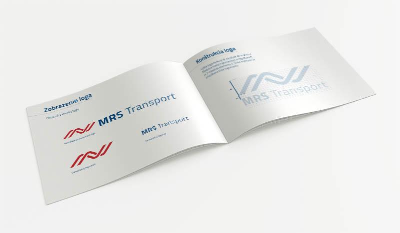 MRS Transport - logo a firemná identita