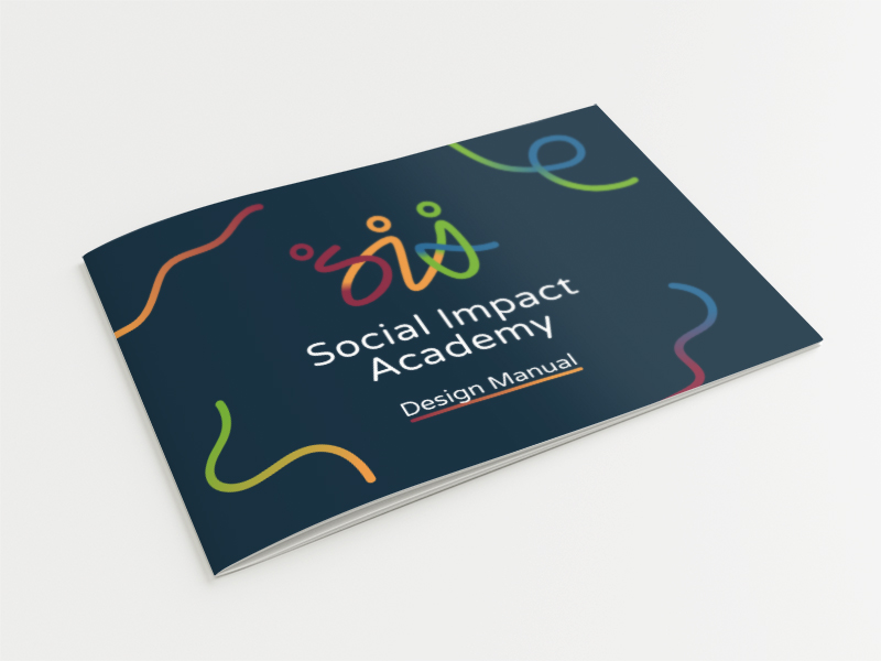 Social Impact Academy - logo a firemná identita