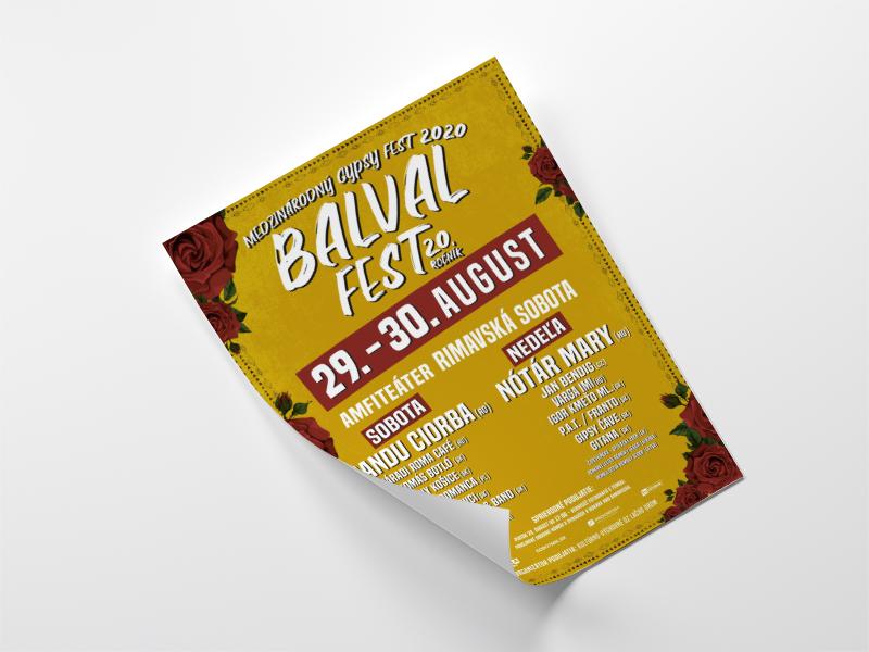 BalvalFest 2020 - plagát