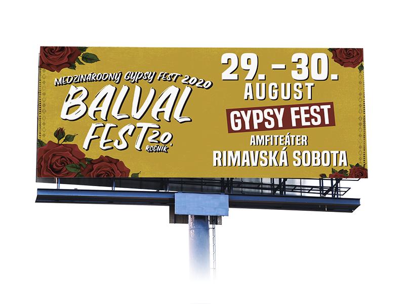 BalvalFest 2020 - billboard