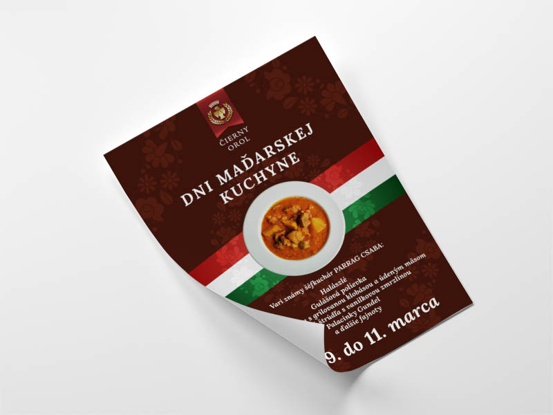 Reštaurácia Čierny Orol - plagát