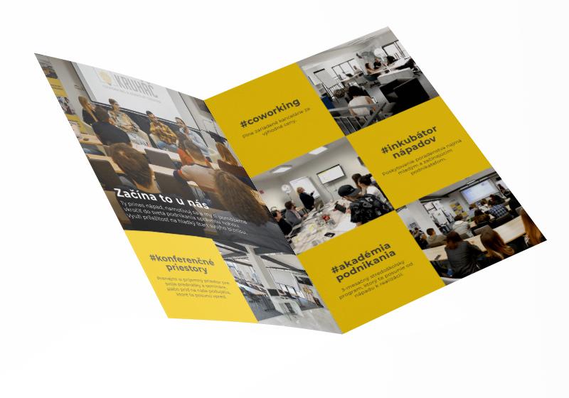 Kruháč Coworking & StartUp Center - brožúra