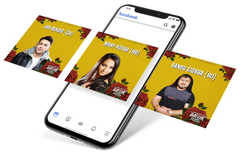 BalvalFest 2020 - Facebook reklama