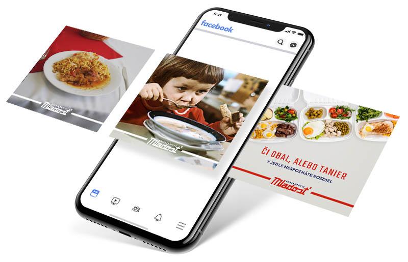 Reštaurácia Mladosť - Facebook reklama