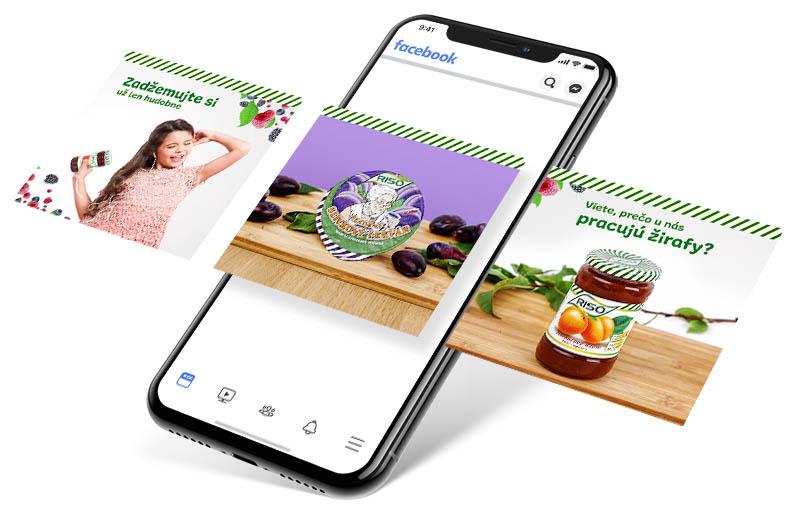 Riso-R - Facebook reklama