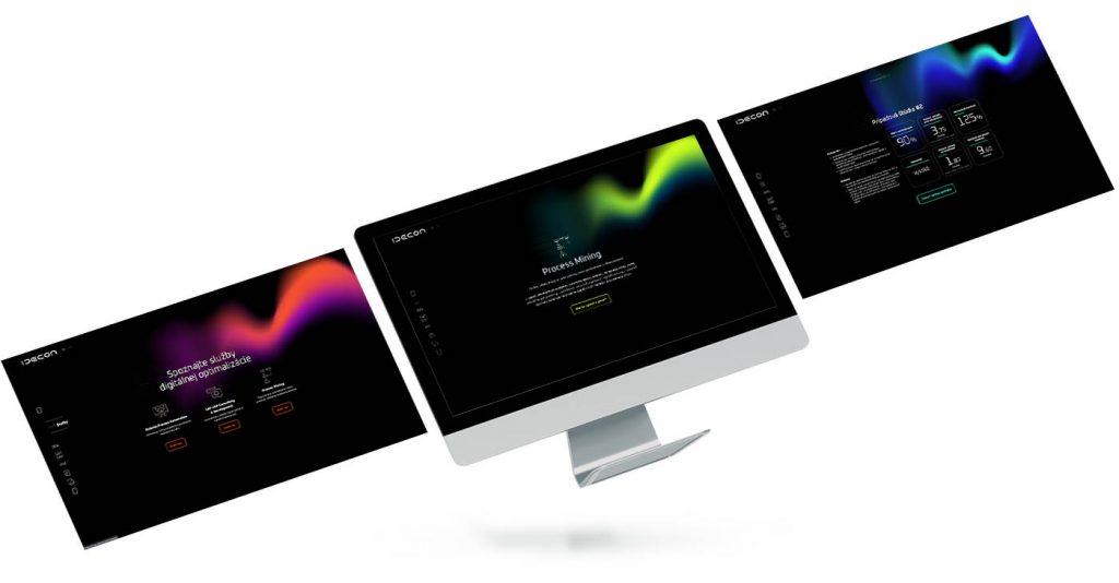 Idecon - webstránka