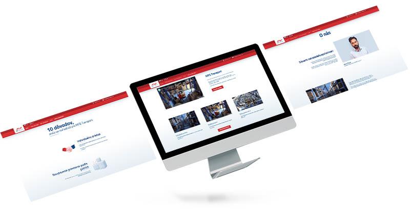 MRS Transport - webstránka