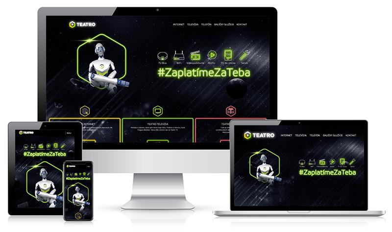 Teatro - webstránka
