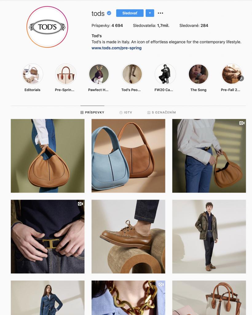 Online marketing: pekný instagram